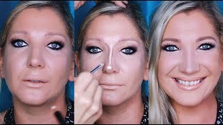 How to Contour & Reshape your NOSE step by step |  Pt. 4 of a 4 Part Seminar | mathias4makeup