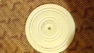 Напольный крутящийся диск Грация - видео отзыв