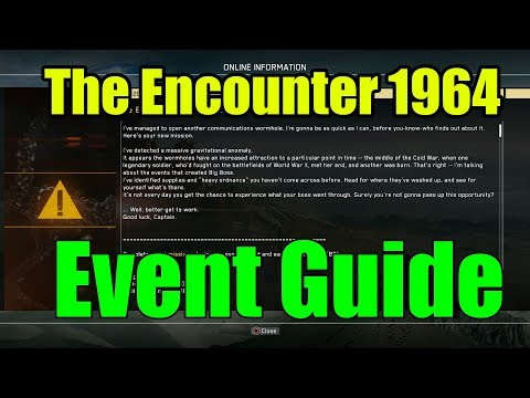 Metal Gear Survive- The Encounter 1964 Event Guide