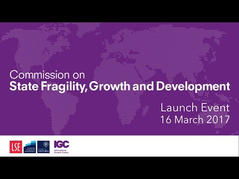 Fragility Commission launch event