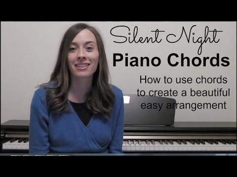 Silent Night Chords Piano: Use Chords To Create Beautiful Accompaniment
