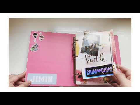 photocard binder tour - Myhiton