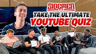 THE SIDEMEN TAKE THE ULTIMATE YOUTUBE QUIZ