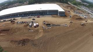 Cooper Construction - FedEx Ground - Manassas, VA Flyover