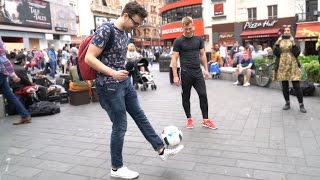PUBLIC FREESTYLE FOOTBALL CHALLENGE