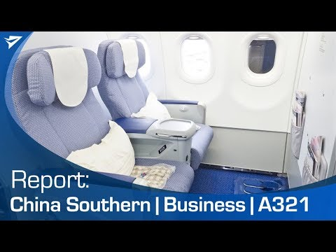 Flight Report: China Southern Business