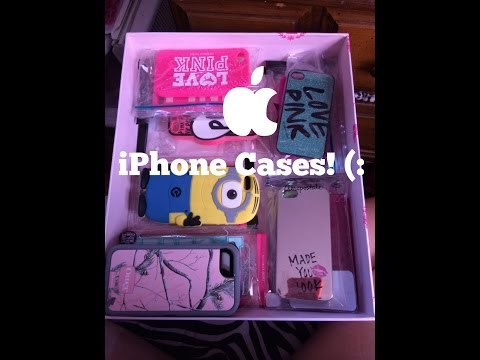 iPhone Case Collection!  (Mostly Victoria's Secret Pink!)