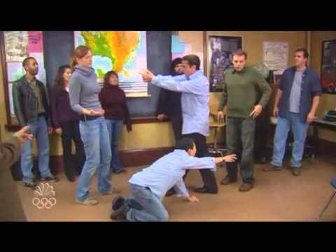 The Office: Michael In Improv