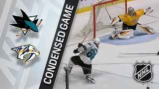 San Jose Sharks vs Nashville Predators – Mar. 29, 2018 | Game Highlights | NHL 2017/18. Обзор
