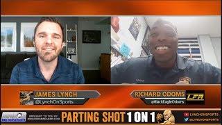 Police officer Richard Odoms talks LFA heavyweight title defense Nov. 3