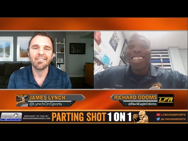 Police officer Richard Odoms talks LFA heavyweight title defense Nov. 3