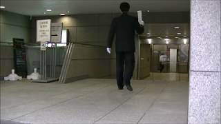 平成29年6月1日 敷島通信 民進党 愛知県総支部連合会があるビル前で意見...