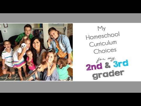 My Homeschool Curriculum Choices for my 2nd and 3rd Graders (2015-2016)