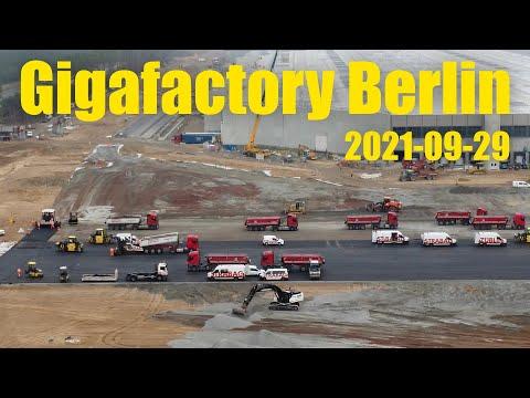 Giga Berlin | 2021-09-29 | Timelapse