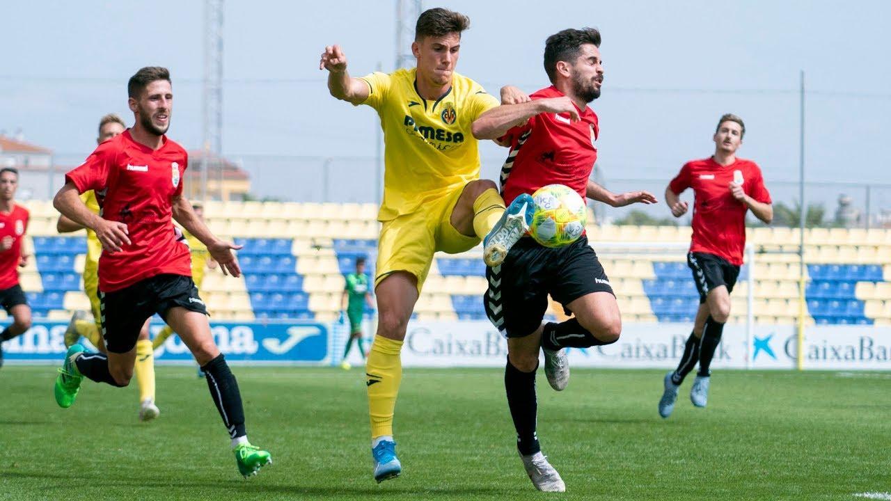 Resumen Villarreal C 4 - 0 Jove Español