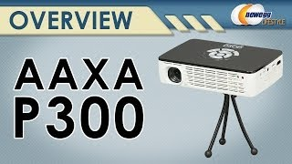 AAXA P300 WXGA 1280x800 Resolution Pocket Size Projector with LED Overview - Newegg Lifestyle