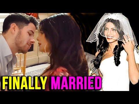 Priyanka Chopra Nick Jonas Finally Married In A Christian Ceremony