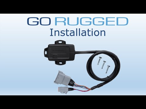 How to Install Geotab's GO RUGGED | Heavy Duty Fleet Tracking Device