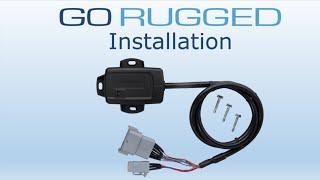 How to Install Geotab's GO RUGGED | Heavy Duty Fleet Tracking Device