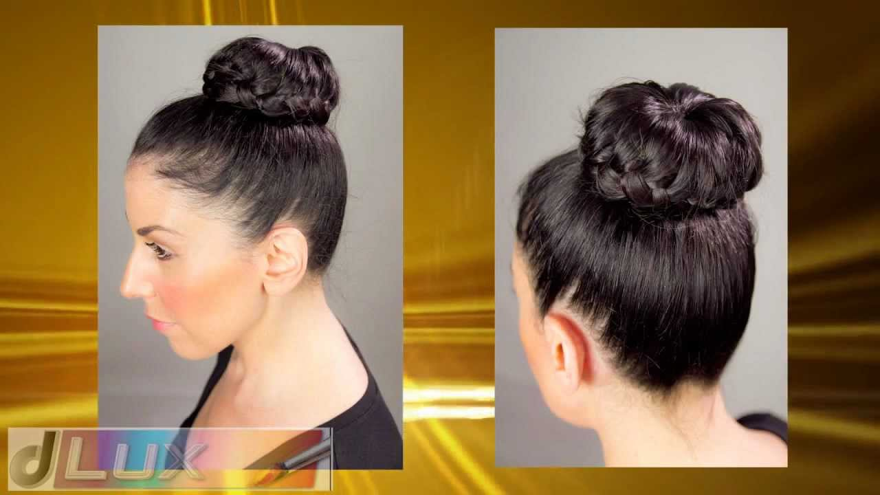 Peinados de mono con donut