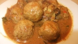Chicken Meatballs Curry