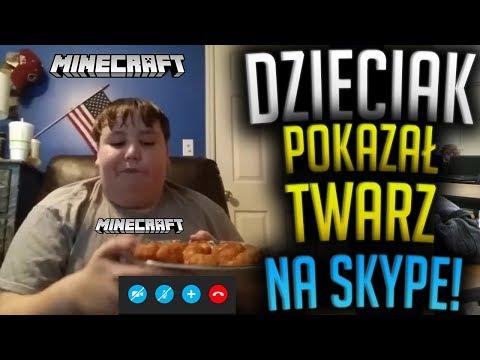 ADMIN DZIECIAK POKAZAŁ TWARZ NA SKYPE NA SPRAWDZANIU! - Minecraft