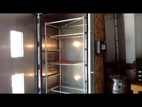 Powder Coating Oven Rack Part 1 Diy Homemade How To Build