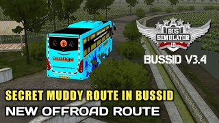 New SECRET OFFROAD ROUTE IN WONOGIRI MAP In Bus Simulator Indonesia|ALTERNATIVE ROUTE IN BUSSID V3.4