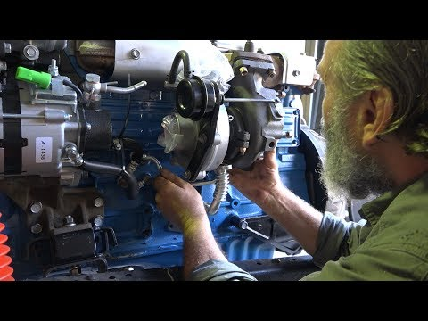 Milo 2   - Turbo Test Fit and Radiator Frame - Roothy Bushmechanic