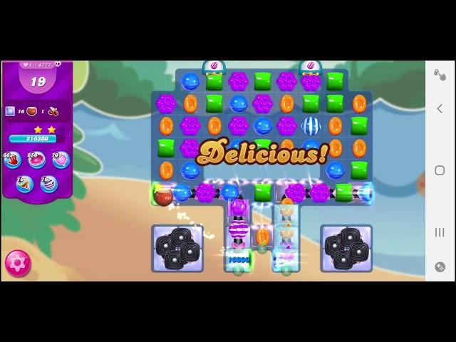 Candy Crush Saga niveau 4777
