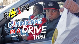 DOMINICANS IN A DRIVE-THRU (Spanish Skit) (8JTV)