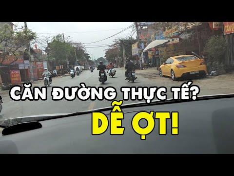 Cách căn đường khi lái xe ô tô DỄ ỢT!