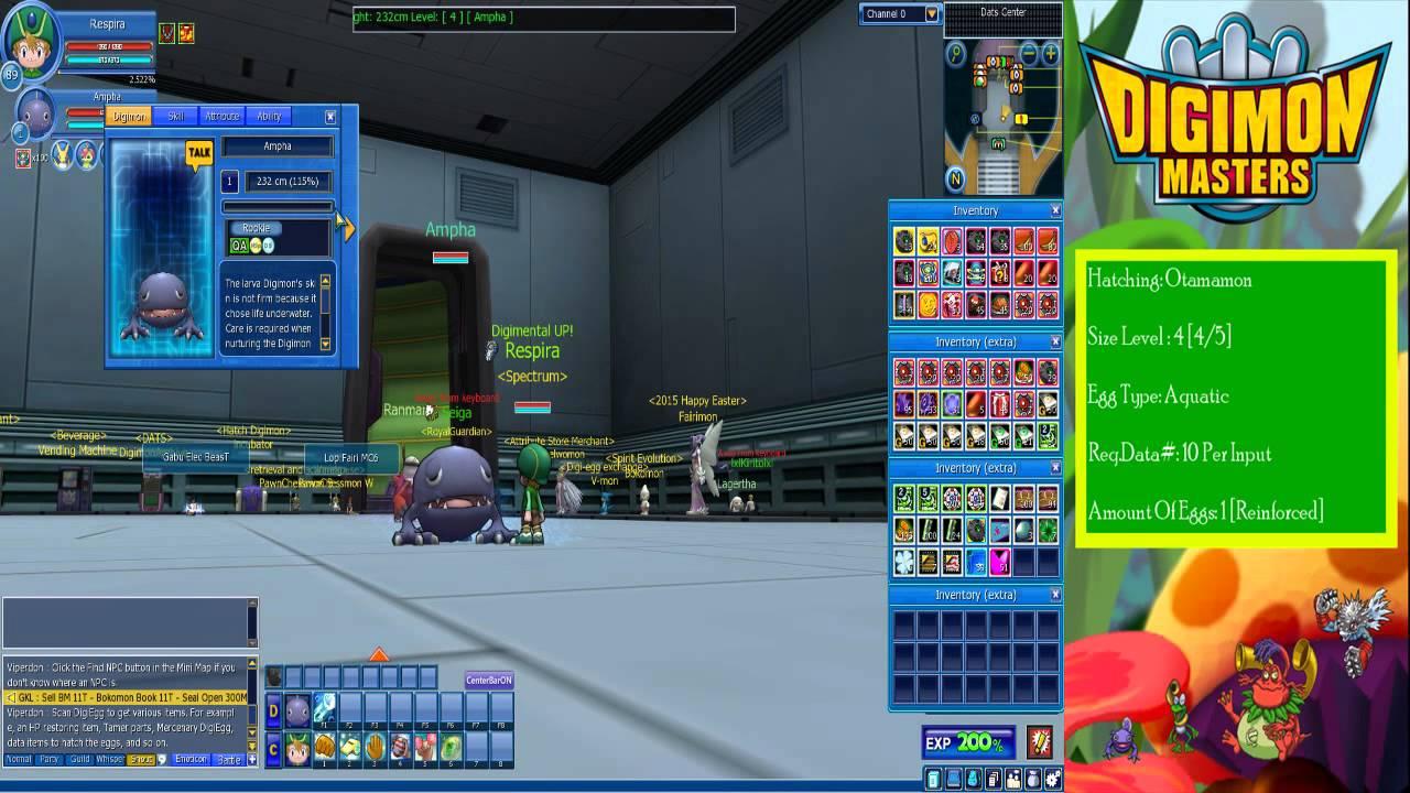 Digimon masters online hatching otamamon 45 fruiting 120 digimon masters online hatching otamamon 45 fruiting 120 youtube negle Images