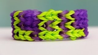 "Rainbow Loom Nederlands ""LOL"" Bracelet - Armband - Loom bands"