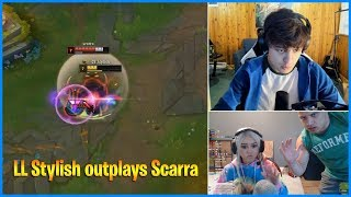 tyler1 comeback in Macaiyla's stream | LL Stylish outplays Scarra | LoL Daily Moments Ep 502