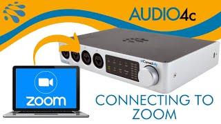 AUDIO4c: Get Better Audio on Zoom Calls!