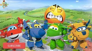 Super Wings - Learn to Count and Opposites - Learn with Jett Jerome Donnie and Mira - Superwings