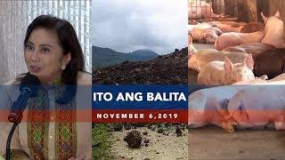 UNTV Ito Ang Balita November 6 2019