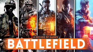 Playing EVERY BATTLEFIELD GAME Released This Decade! (2010-2019)