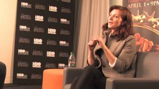 Game of Thrones: Michelle Fairley (Catelyn Stark) Interview