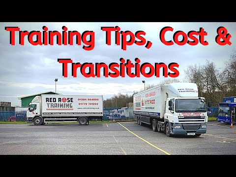 Tips For Your Class 1 Test & How Much HGV Training Costs.