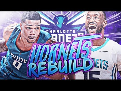 SUPER TEAM! CHARLOTTE HORNETS REBUILD! NBA 2K19