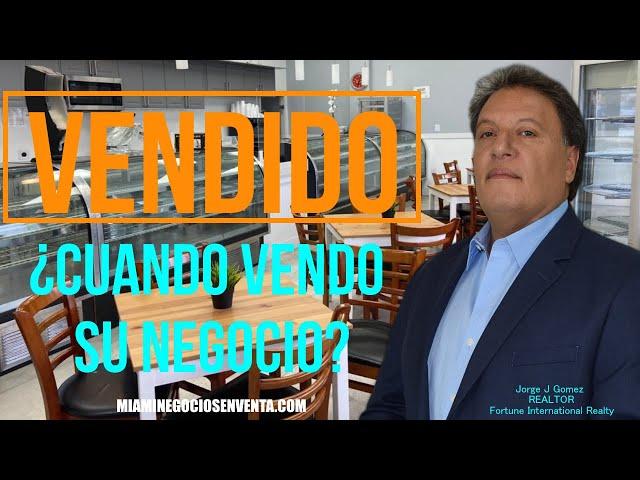 Otro Negocio VENDIDO-Jorge J Gomez y su equipo.  Representamos al comprador. Miami Negocios en Venta