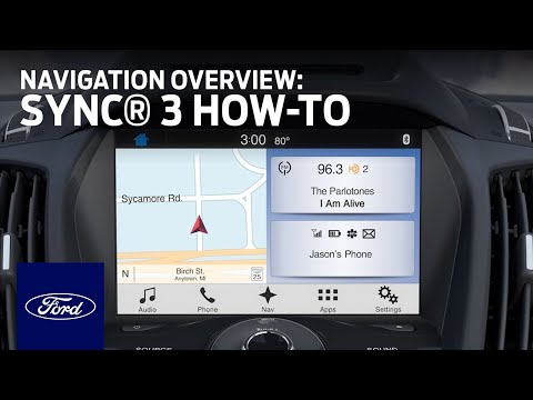 Sync 3 Navigation Overview Sync 3 How To Ford Youtube