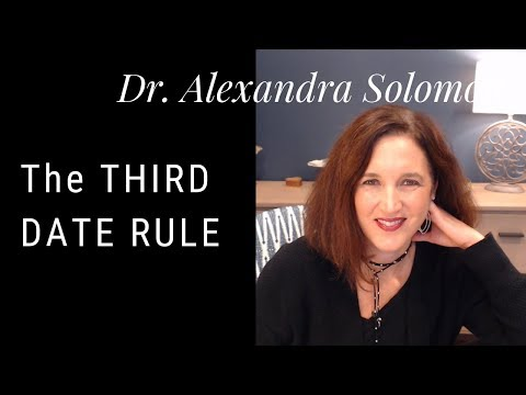My Thoughts On The 3rd Date Rule