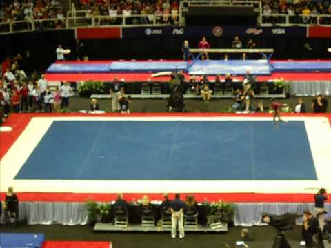 Gabby Douglas Floor  2012 USA Gymnastics Olympic Trials