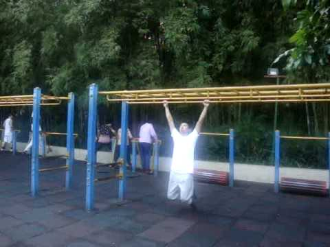 Guangdong Xinhua town park exercise