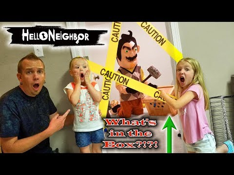 Hello Neighbor in Real Life! Crate Creatures Toy Scavenger Hunt & Secret Mystery Box Found! thumbnail