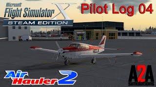 Flight Simulator X: Pilot Log 4 - Air Hauler 2 - A2A Piper Comanche Check Ride!