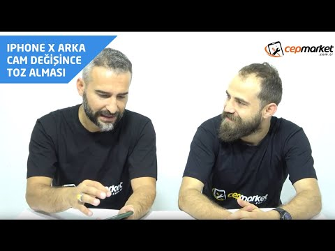 Cep Market - Şikayetvar       / IPhone X Arka Cam Değişince Kamera Toz Almaya Başladı